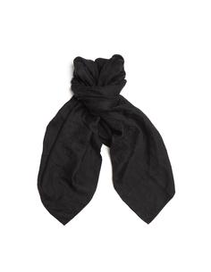 Льняной платок с принтом Blackyoto
