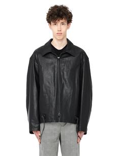 Кожаная куртка Yohji Yamamoto