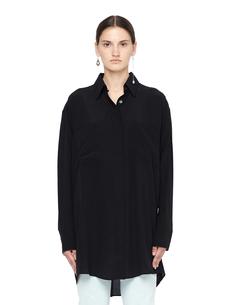Шелковая блузка свободного кроя Faith Connexion