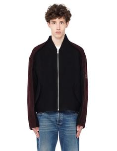 Куртка из шерсти и мохера Yang LI