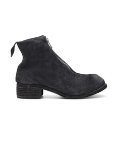 Кожаные ботинки на молнии Guidi