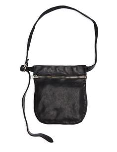 Кожаная сумка на пояс Guidi