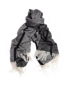 Полосатый шарф из мохера Yohji Yamamoto