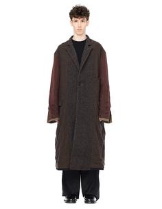 Двухсторонее пальто из шерсти Ziggy Chen