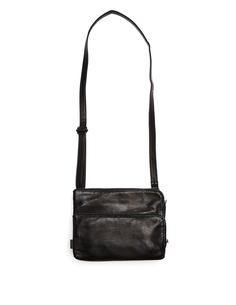 Кожаная сумка с тремя отделениями Yohji Yamamoto