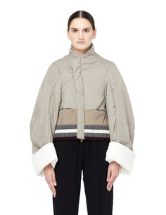 Утепленная куртка на молнии Undercover