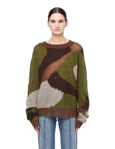 Камуфляжный свитер Faith Connexion