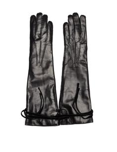 Высокие утепленные перчатки Ann Demeulemeester