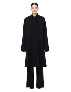 Шерстяное пальто с меховой подкладкой Maison Margiela