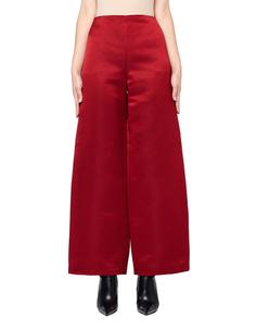 Широкие брюки из шелка The Row