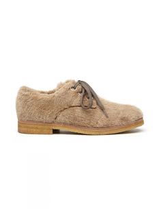 Кожаные ботинки с искуственным мехом Hender Scheme