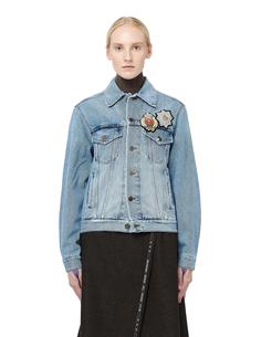 Джинсовая куртка с шевронами Faith Connexion