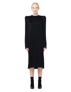 Платье миди с подплечниками Haider Ackermann