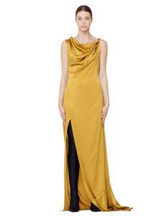 Шелковое платье A.F.Vandevorst