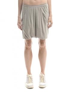 Юбка-шорты из вискозы, ангоры и шерсти Rick Owens Lilies