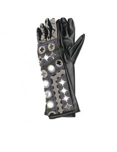 Перчатки из искусственной кожи KTZ