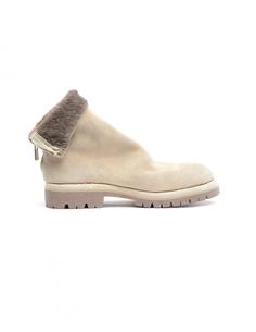 Замшевые ботинки с мехом лошади Guidi