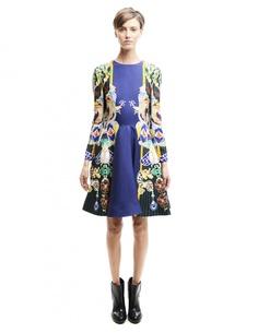 Платье из вискозы и шелка Mary Katrantzou