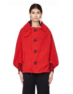 Куртка из нейлона и хлопка Y`s