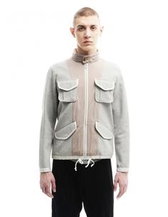 Куртка из хлопка и полиэстера 08sircus