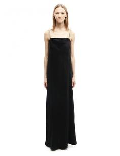 Платье из шелка и вискозы Maison Margiela