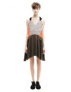 Платье из хлопка и полиэстера Damir Doma