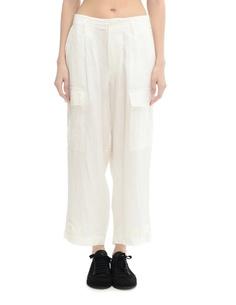 Льняные брюки Yohji Yamamoto