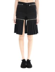 Шерстяные шорты с юбкой на молнии Hood By Air