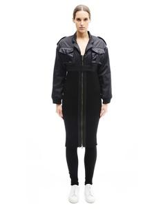 Пальто из шерсти и нейлона KTZ