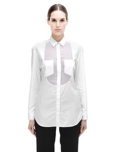 Хлопковая блузка Maison Margiela