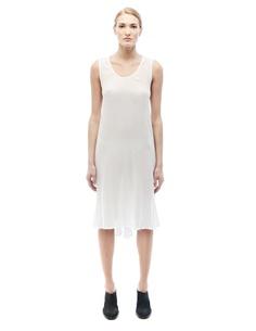 Платье из хлопка и модала Ann Demeulemeester