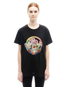 Хлопковая футболка Mary Katrantzou