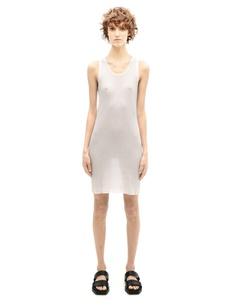 Платье из хлопка и кашемира Haider Ackermann