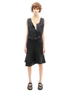 Шелковое платье Haider Ackermann