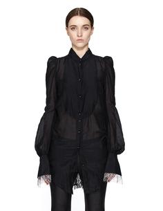 Блузка из хлопка и шелка IF SIX WAS Nine