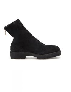 Замшевые ботинки Guidi