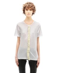 Хлопковая футболка Comme DES GarÇons