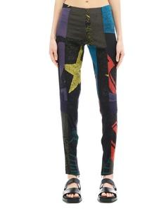 Шелковые брюки A.F.Vandevorst