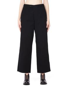 Хлопковые брюки Yohji Yamamoto