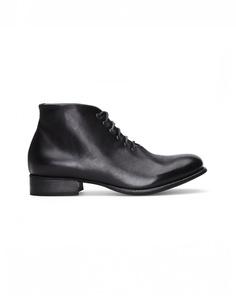 Кожаные ботинки ручной работы Yohji Yamamoto