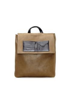 Кожаный рюкзак Maison Margiela