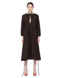 Платье из полиамида Vetements