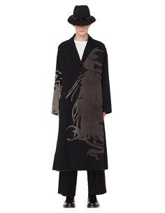 Шерстяное пальто Yohji Yamamoto