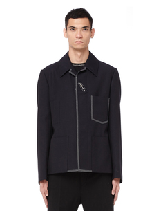 Пиджак из шерсти и мохера Maison Margiela