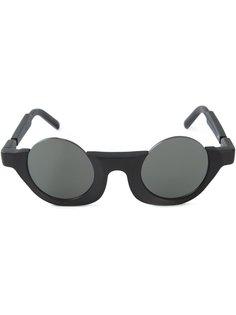 солнцезащитные очки в круглой оправе Kuboraum Berlin x Julius  Kuboraum