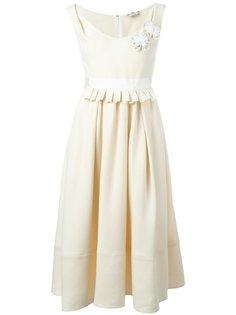 платье с аппликацией  Fendi