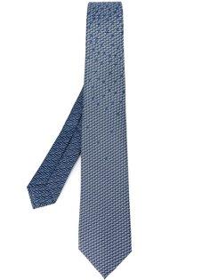 галстук с узором Bulgari