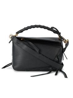 маленькая сумка через плечо с декоративной шнуровкой Puzzle Loewe
