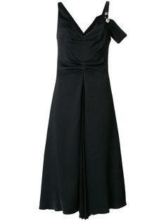 платье на одно плечо  Proenza Schouler