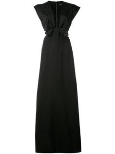 платье с вырезами и короткими рукавами  Proenza Schouler